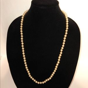 Jewelry - Faux Pearl Necklace 30""